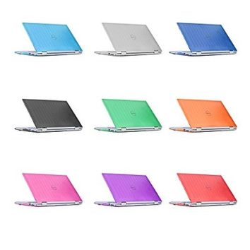 "iPearl mCover Hard Shell Case for 13.3"" Dell Inspiron 13 7347 / 7348 / 7359 2-in-1 Convertible ( NOT compatible with Dell Inspiron 13 7352 model ) Laptop (AQUA)"