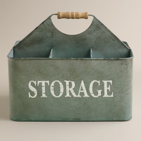 Zinc Donna Storage Caddy - World Market
