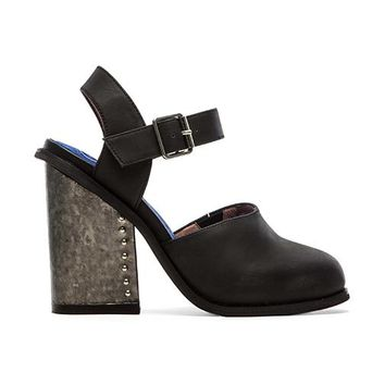 Jeffrey Campbell Bonshe Heel in Black