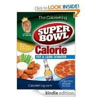The CalorieKing Super Bowl Calorie, Fat and Carb Counter