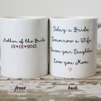Mother of the Bride Mug | Wedding Gift for Mother | Gift For Mom | Mothers Day Mug | Mother of the Bride Gift Ideas | Wedding Gift for Mom