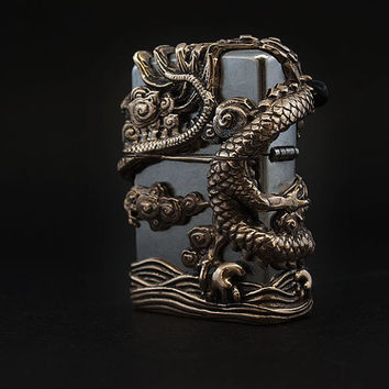 Hollow EastDragon Zippo Lighter ,Zippo Lighter EastDragon Lighter