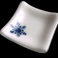 Decor, Snowflake, Gift, Blue and White, #decor #gift #blueandwhite #snowflake
