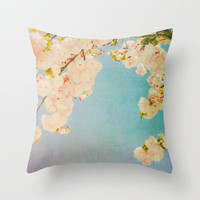 Miami Summer Throw Pillow by Hello Twiggs