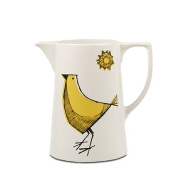 Large Yellow Bird Jug | English Eccentrix by Royal Stafford | Carly Dodsley