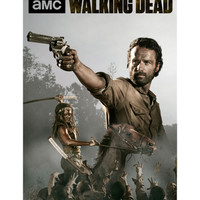 The Walking Dead Rick And Michonne Poster