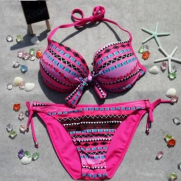 Womens Bohemian Bikini Set Swimsuit