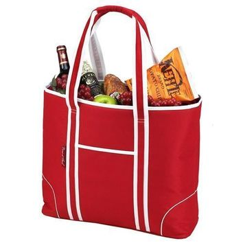 Extra Large Insulated Cooler Tote | Red