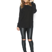Naked Wardrobe Comfort Zone Sweater T