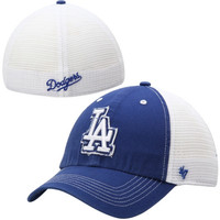 L.A. Dodgers '47 Brand Blue Mountain Flex Hat – White