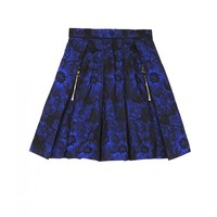 DO TOUCH Blue Pleated Skirt