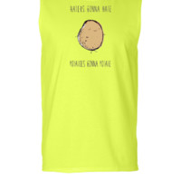 Haters Gonna Hate, Potatoes Gonna Potate 2 - Sleeveless T-shirt