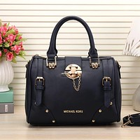 MK Women Fashion Leather Handbag Tote Travel Satchel Shoulder Bag