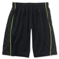 Geo Stripe Active Shorts
