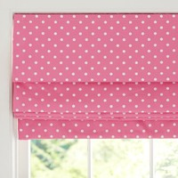 Dottie Cordless Roman Shade With Blackout Lining