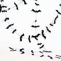 Halloween Decorations   Bat Halloween Garland