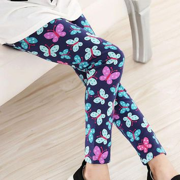 Electric Butterfly Leggings