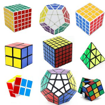 Megaminx Magic Cube Square Puzzle Speed Sticker Cubes Educational Stress Reliever Fidget Formal Dedicated Game Spinner Hand Toy