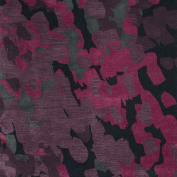 Jaipur Rugs Modern Abstract Pattern Purple/Pink Wool and Art Silk Area Rug BL139 (Rectangle)