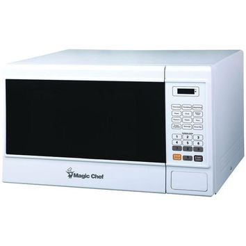 1.3-Cubic-ft Countertop Microwave (White)