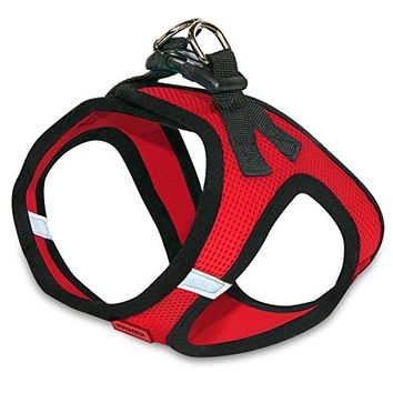 BPS Voyager - All Weather No Pull Step-in Mesh Dog Harness with Padded Vest for Puppy and Cats
