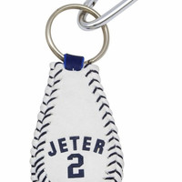 New York Yankees Derek Jeter baseball Keychain