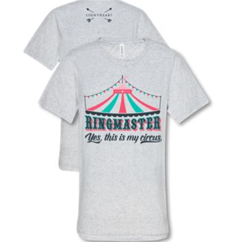 Southern Couture Lightheart Ringmaster Yes this is my Circus Triblend Front Print T-Shirt