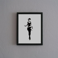 Lilith the Siren Borderlands Hand Cut black by CuttingPixels