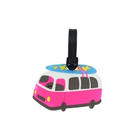 Surf Bus Luggage Tag Beach surfer bus Luggage Tag Surfer Girl Luggage tag