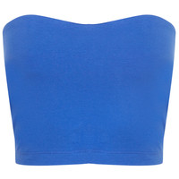 Sweetheart Bandeau - Apparel - Blue