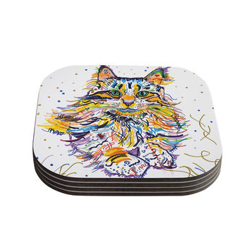 "Rebecca Fischer ""Leo"" Coasters (Set of 4)"
