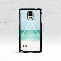 Hipster's Free Spirit Ocean Triangle Case Cover for Samsung Galaxy S3 S4 S5 S6 Edge Active Mini or Note 1 2 3 4 5