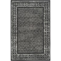 Safavieh Adirondack Black/ Silver Rug (6' x 9') | Overstock.com Shopping - The Best Deals on 5x8 - 6x9 Rugs