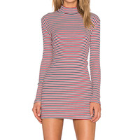 MINKPINK Stripe Skivy Mini Dress in Multi
