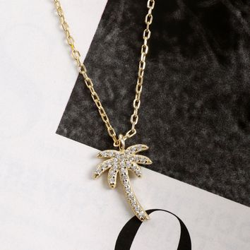 Dylan Skye Palm Necklace
