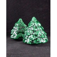 Christmas Tree Salt And Pepper Shakers
