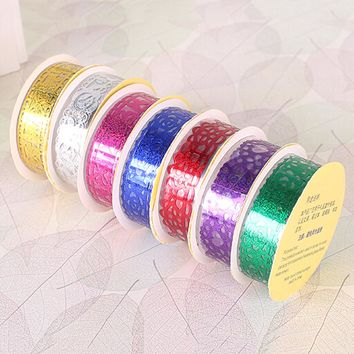 Candy Colors Lace Tape Decoration Roll Washi Decorative Sticky Paper Masking Tape DIY Self Adhesive Tape Scrapbook Tape Hot Sale