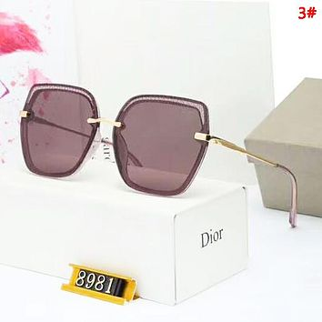 DIOR Women Fashion New Polarized Sun Protection Glasses Eyeglasses 3#