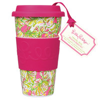 Lilly Pulitzer Travel Mug: Elephant Ears
