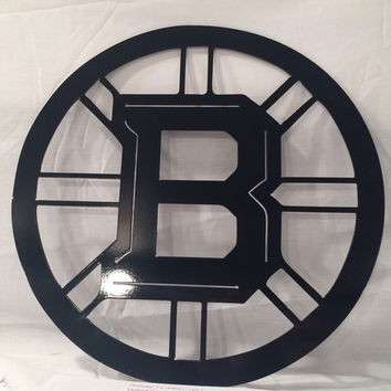 Boston Bruins Metal Art, wall art