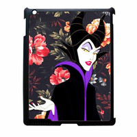 Malficient Disney Floral Vintage iPad 3 Case