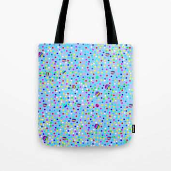 Colorful Rain 06 Tote Bag by Zia