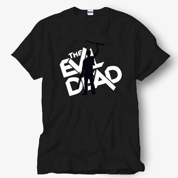 The Evil Dead Movie Shirt, White Shirt, Popular Shirt Hot Product On USA Size S-M-L-XL