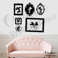 Vinyl Wall Decal Sticker Disney Frames Mickey Minnie Mouse Kids Nursery r1870