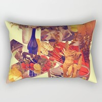 Ch-Ch-Changes Rectangular Pillow by Alayna H.