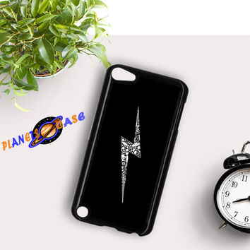 Harry Potter Scar Logo iPod Touch 6 Case Planetscase.com