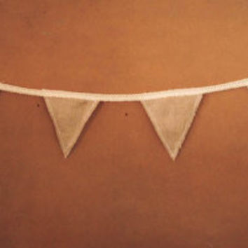 Fabric Bunting Banner - Wedding Banner, Bridal Party, Wedding Garland, Boho Home Decoration, Nursing Mobile, Nursery Decoration