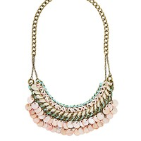 Boho Shell Accent Necklace