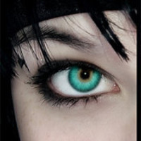 Aqua Contact Lenses by Colortones