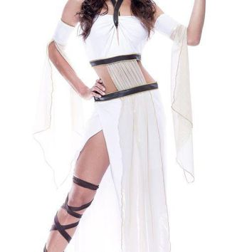 Grecian Goddess Womens Large costume for Halloween
